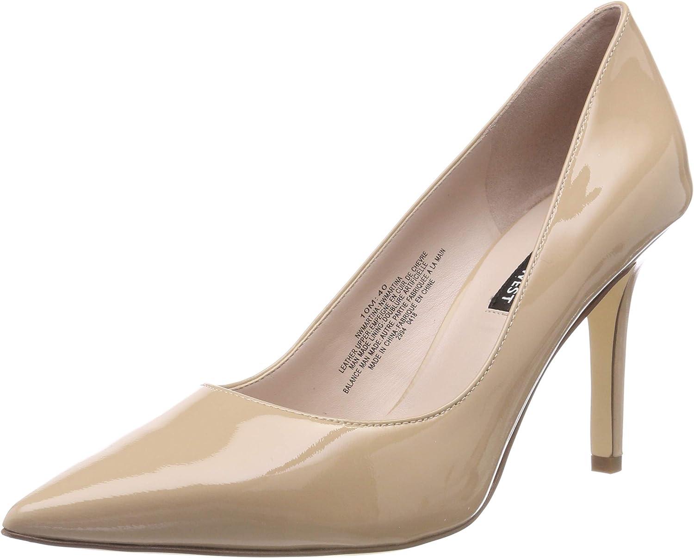 NINE WEST Nwmartina15, Zapatos de tacón con Punta Cerrada para Mujer