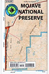 Mojave National Preserve Recreation Map (Tom Harrison Maps) Map