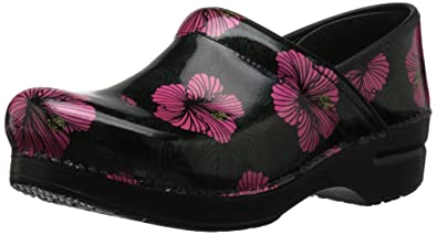Dansko Size 37 Black Mary Jane Floral Durable In Use Comfort Shoes