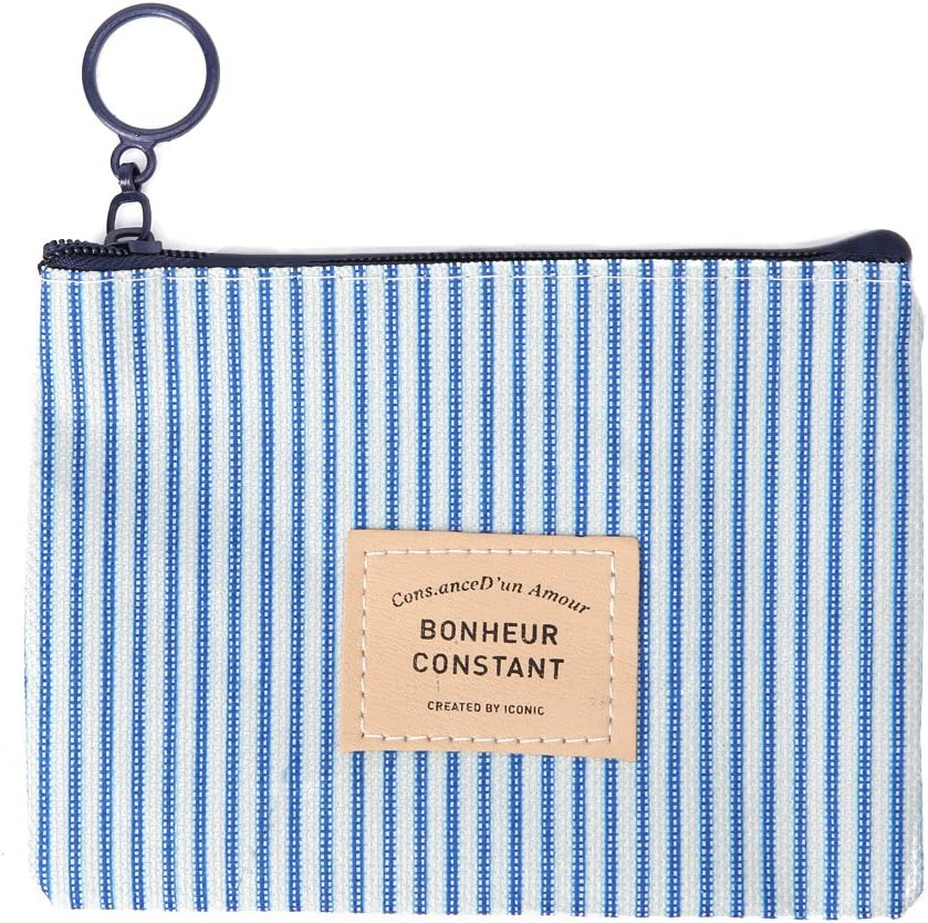 MB-LANHUA New Women Lady Small Canvas Coin Purse Purse Zipper Wallet Coin Case Pouch Bag Key Holder