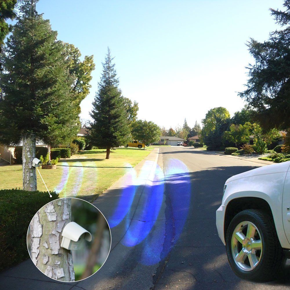 1/4 Mile Long Range Hosmart Rechargable Wireless Driveway Alarm System & Driveway Alert System Outdoor Weatherproof Security Motion Sensor & Detector by Hosmart (Image #6)