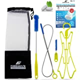Hydration Water Bladder Cleaning Kit 5in1 | NO MORE DIRT | Universal for Hydration Bag Reservoir | Bladder Cleaner | Big Brus