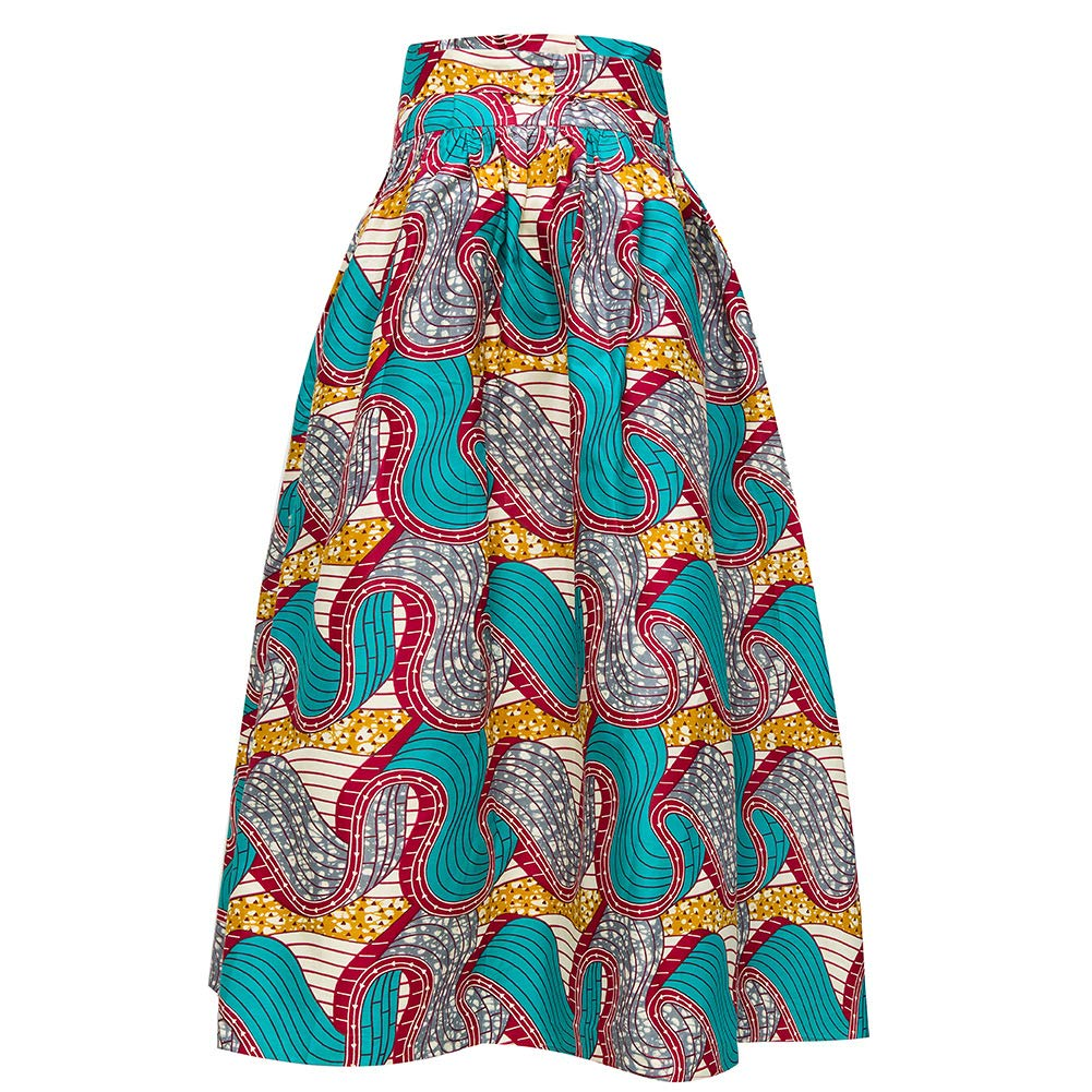 Falda Plisada Algodón Vintage Para Mujer Estilo De étnico Faldas ...