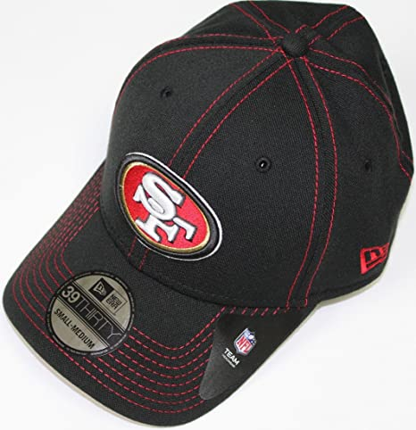 0472a7c2592d3 San Francisco 49ers New Era NFL 39THIRTY Team Color Stitched Neo Flex Fit  Hat