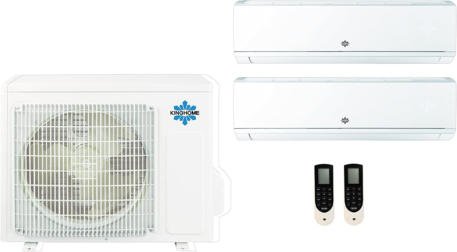 KINGHOME 4 Sales Combos mini split system with heat pump, heating and cooling