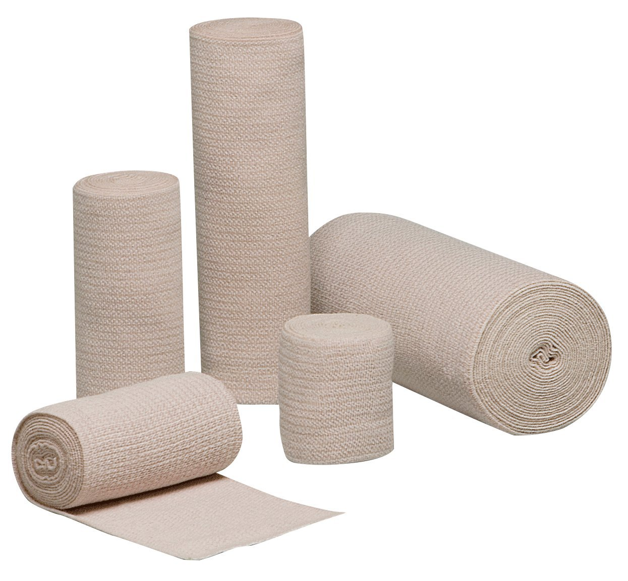 Hartmann 16600000 REB Latex-Free Reinforced Standard Woven Elastic Bandage, 6'' Width, 5 yd. Length (Pack of 10)
