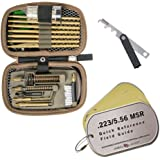 Real Avid .223/5.56 Pro Pack—premium .223/5.56 cleaning kit with carbon scraper, brass components, field guide, and more