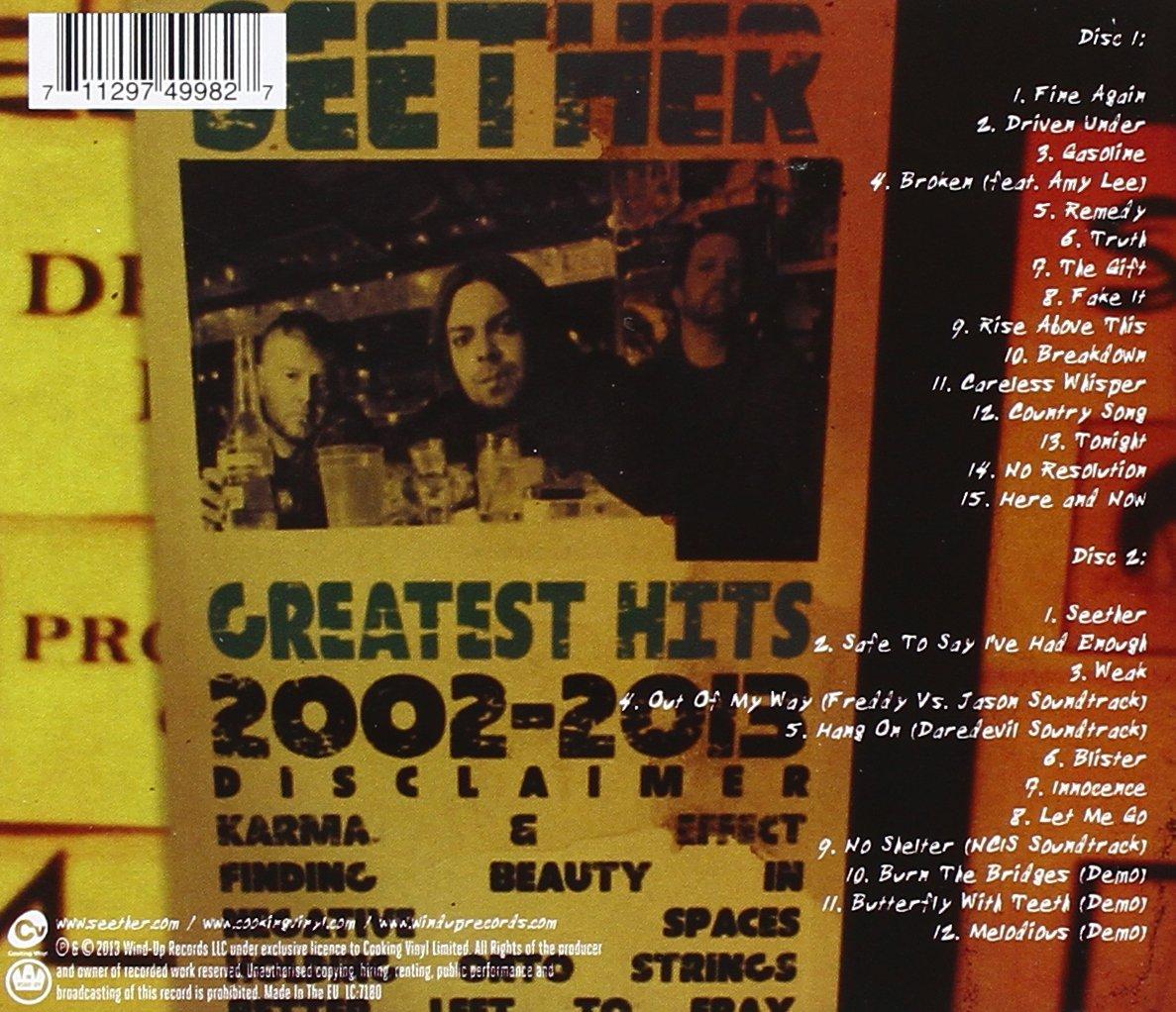 Seether 2002 2013 Amazoncouk Music