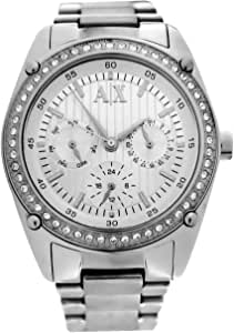 Armani Exchange Crystal Accents Silver Dial Women's watch #AX5030