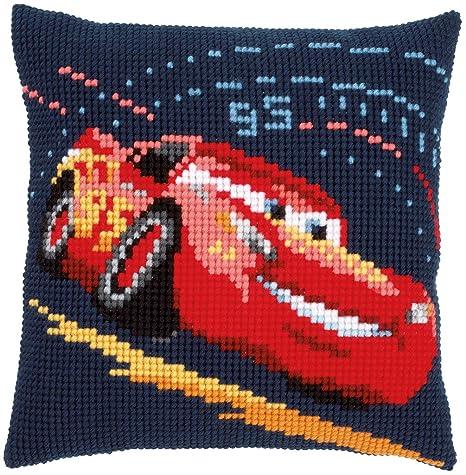 Amazon.com: Disneys Cars Lightning McQueen Cross Stitch ...