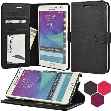 Abacus SNTEWCC Funda para teléfono móvil Folio Negro: Amazon.es: Electrónica