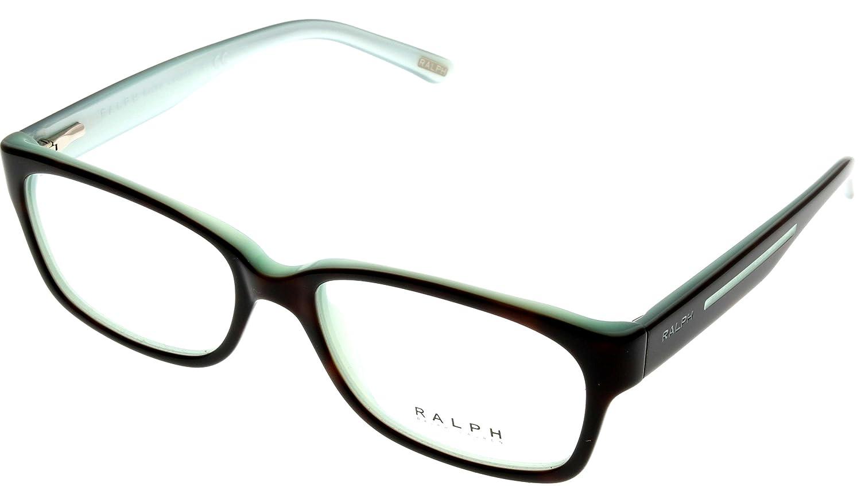 7e3b665cacf Amazon.com  Ralph by Ralph Lauren Women Eyeglasses Designer Havana  Rectangular RA7035 601  Clothing