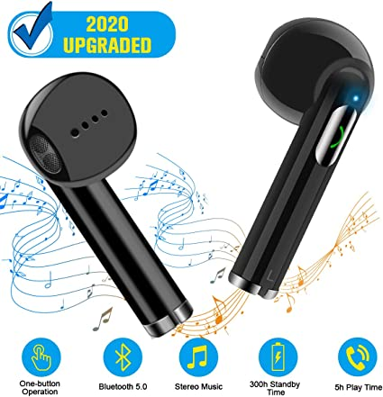 Amazon Com Wireless Earbuds Bluetooth Earbuds Wireless Earphones Stereo Wireless Earbuds With Microphone Charging Case Bluetooth In Ear Earphones Sports Earpieces Compatible Ios Samsung Android Phones Home Audio Theater