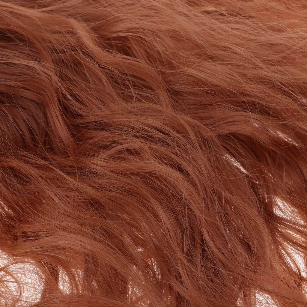 Fenteer Puppenzubeh/ör Lange Puppenhaar Per/ücke Haarteil mit Pony f/ür 1//3 Dollfie Luts # 1 Volks Puppen DIY Dress Up