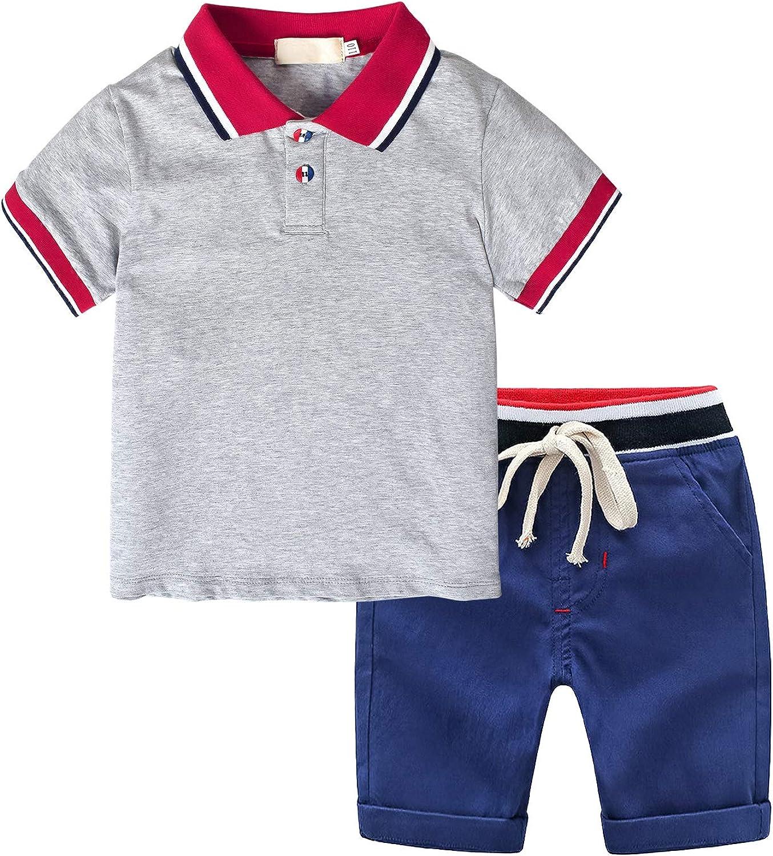 Short Kids Cartoon Vêtements d/'été 2pcs bébé fille en coton Set à manches courtes Tops