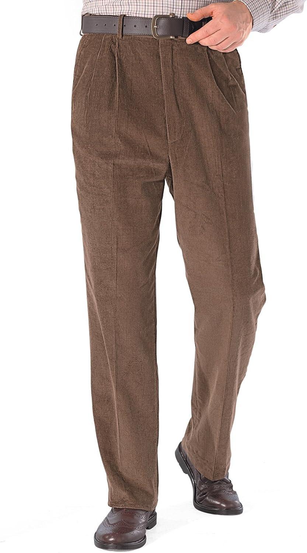 Chums Pantalones De Pana Algodón con Una Alta Pretina Ajustable para Hombre