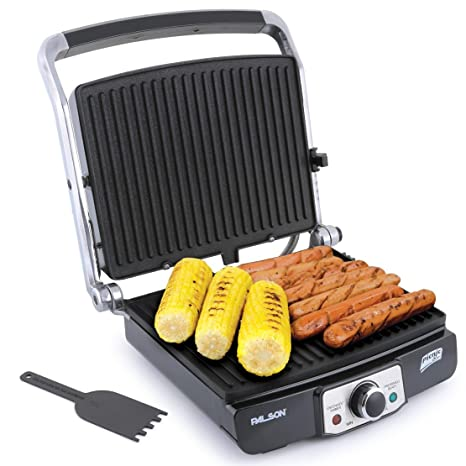 Palson Picnic Plus Grill system, Negro, Acero inoxidable