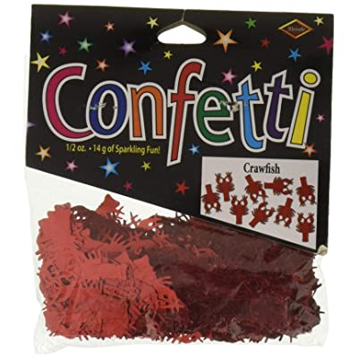 Beistle CN305 Crawfish Confetti, 1/2-Ounce: Kitchen & Dining