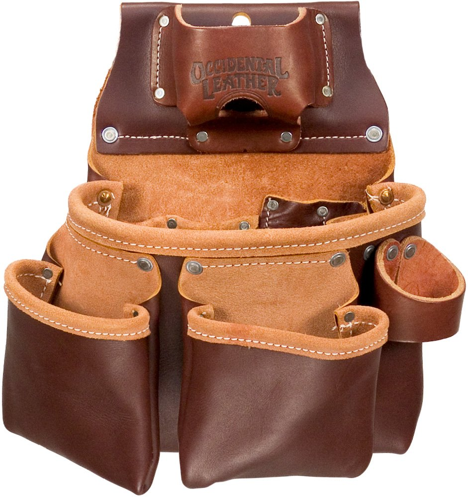 Occidental Leather 5018DB 3 Pouch Pro ToolTM Bag by Occidental Leather  B00HGASYAK