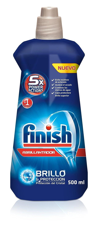 Finish Lavavajillas Abrillantador Lim N 500 Ml Amazon Es Salud  ~ El Lavavajillas Deja Los Vasos Blanquecinos