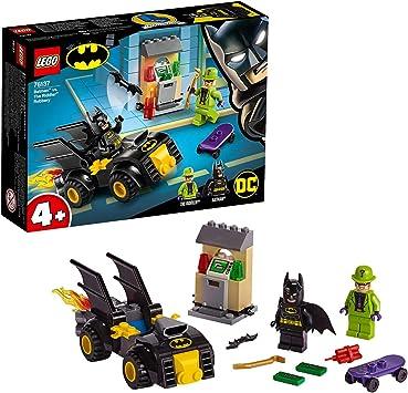 Oferta amazon: LEGO Super Heroes - Batman y el Robo de Enigma Juguete de construcción con un Batmobile para Perseguir al Supervillano, Novedad 2019 (76137)