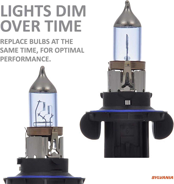 HID Attitude H7 SYLVANIA Xenon Fueled Technology Bright White Light Output SilverStar zXe High Performance Halogen Headlight Bulb 64210 Contains 2 Bulbs Headlight /& Fog Light
