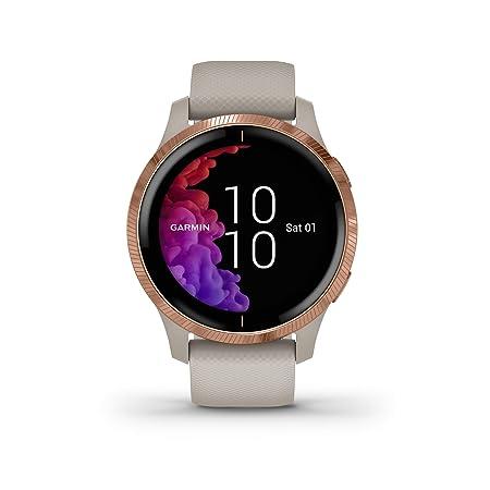 Garmin - Reloj Inteligente Smartwatch Garmin Venu Oro Rosa ...