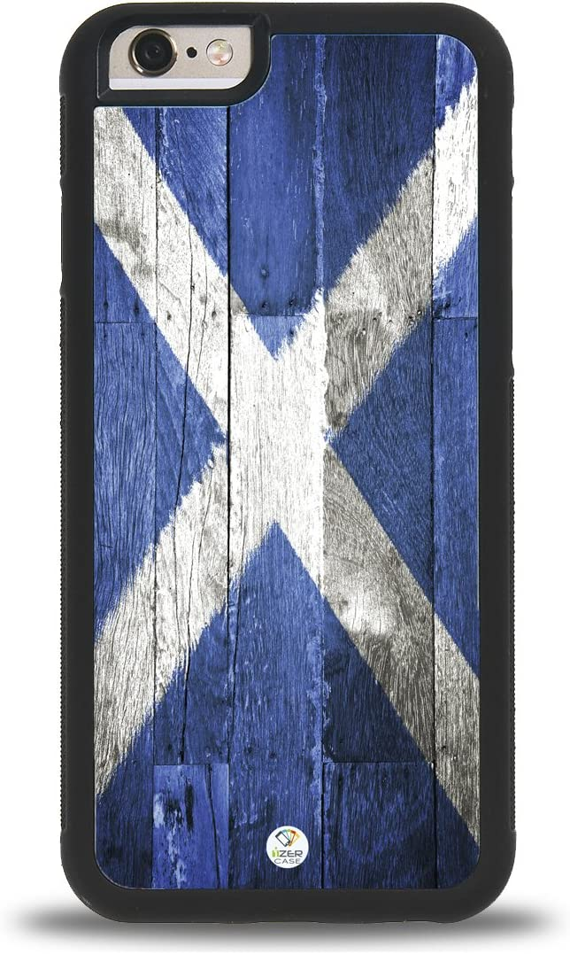 iPhone 7/8 Case iZERCASE [Scotland Flag Scottish] for Apple iPhone 7/8 (Black)