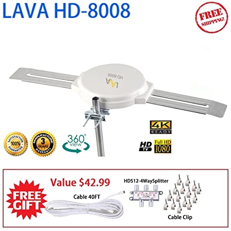 The 8 best lava omnidirectional tv antenna omnipro hd 8008 review