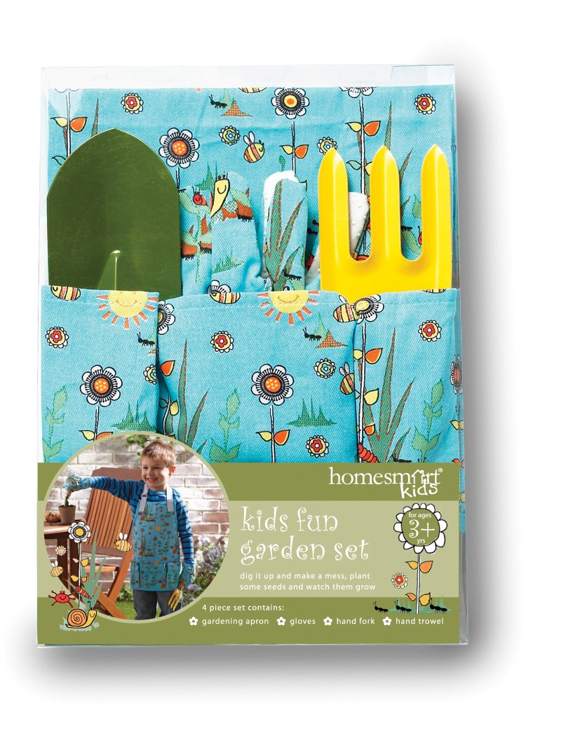 Cooksmart Kids 4-Piece Boys Garden Set 8216