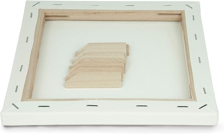 Toile dartiste 30cm x 30cm ArtGeo FSC paquet de 3