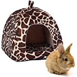 Rabbit Guinea Pig Hamster House Bed Cute Small Animal Pet Winter Warm Squirrel Hedgehog Chinchilla House Cage Nest Hamster Accessories