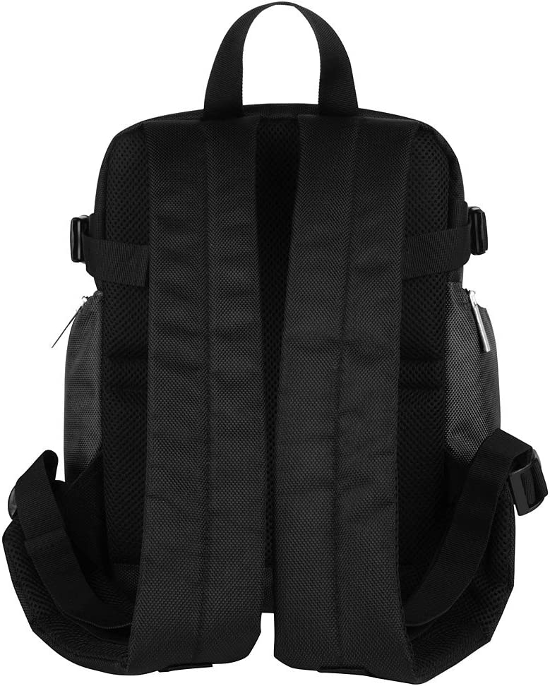 DSLR Camera Backpack Gray Bag with Tablet Compartment and Padded Dividers for Nikon and Lens Tripod Other Accessories