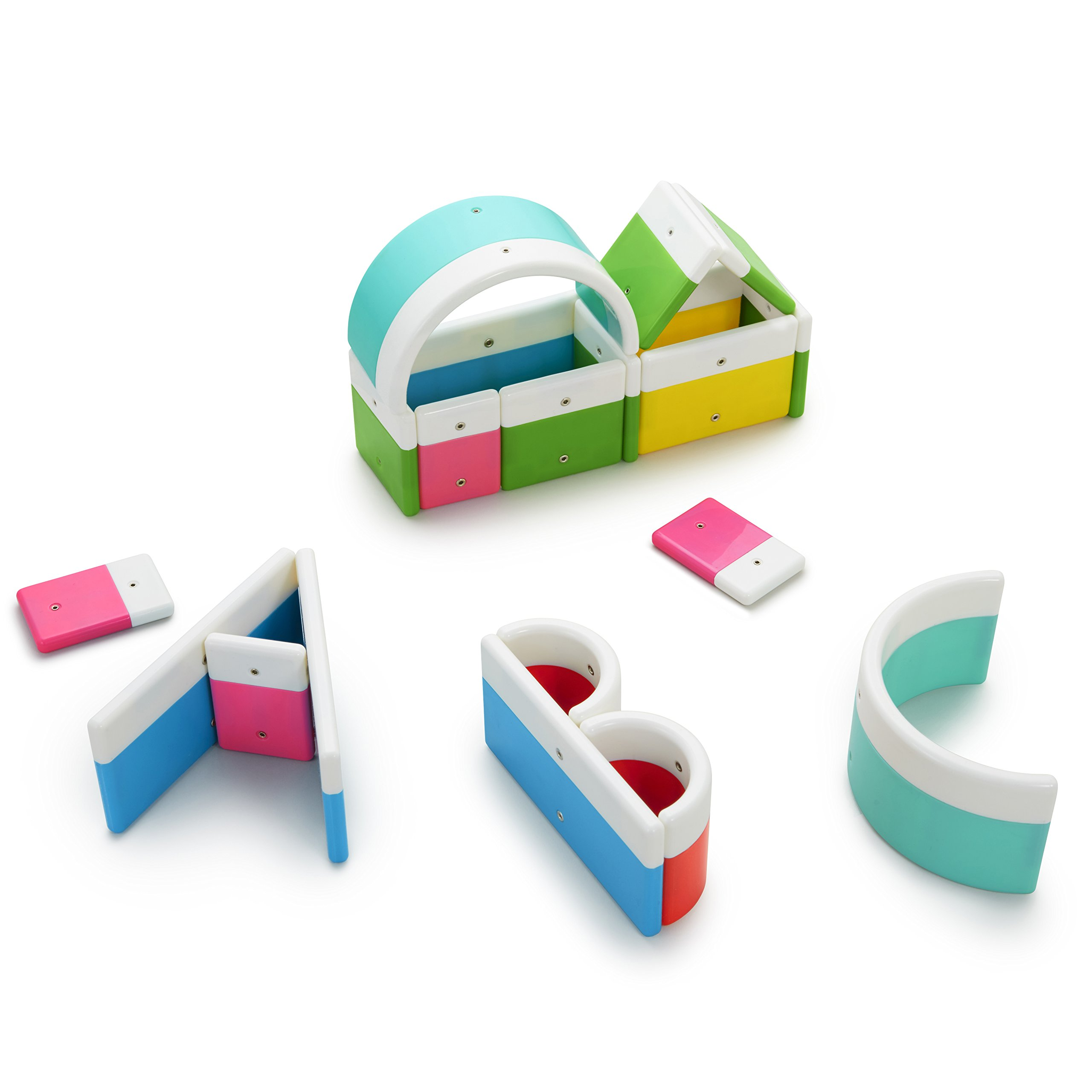Kid O Alphabuild Magnetic Preschool Learn Your Letters Tiles