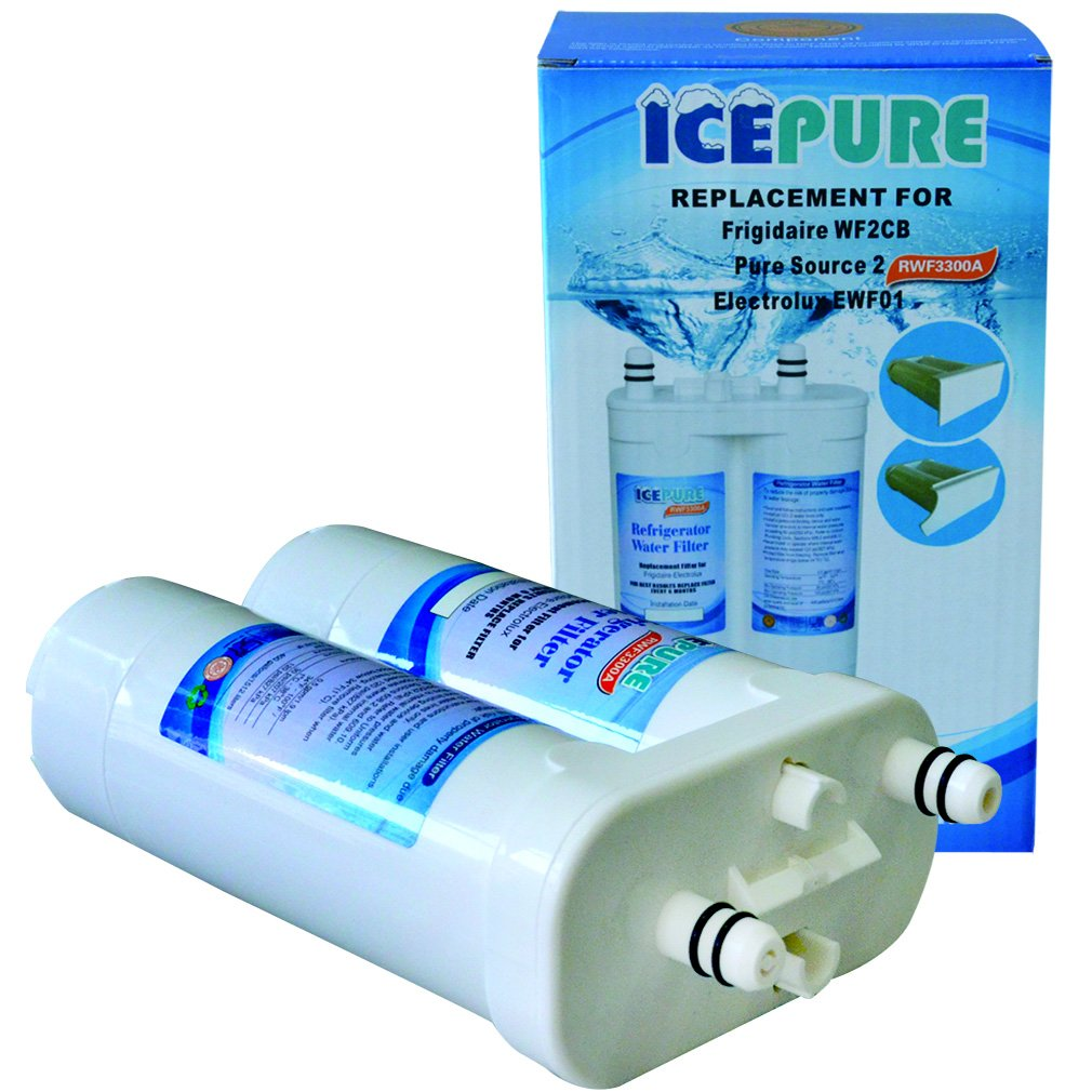 IcePure RWF3300A Refrigerator Water Filter replacement for Frigidaire WF2CB