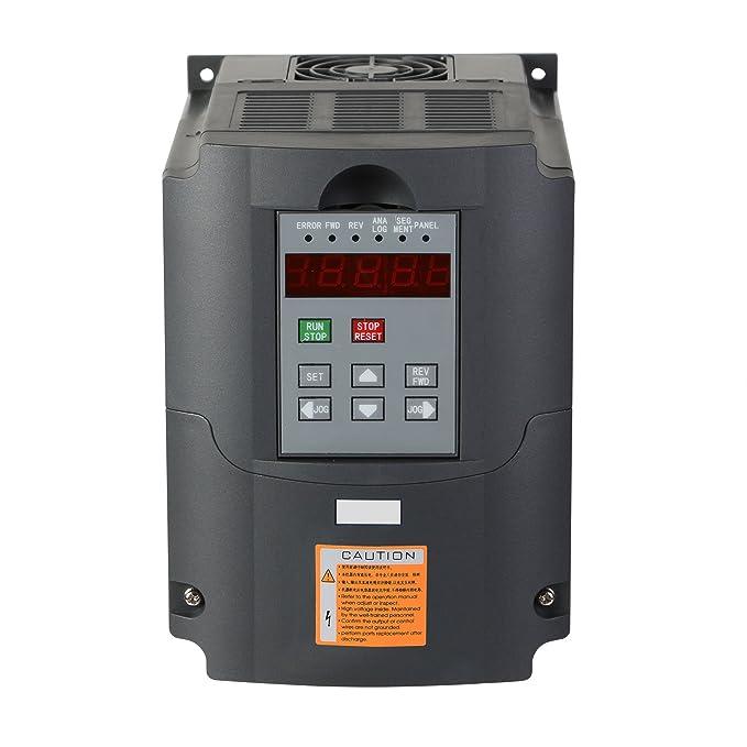 11 opinioni per BuoQua 2.2KW 220V 3HP Trasformatore VFD Velocità Controllato Variatore Di