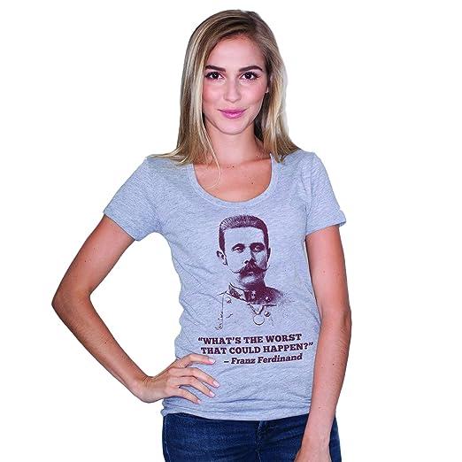 671f7430 Amazon.com: Headline Shirts Franz Ferdinand Funny Graphic Screen ...