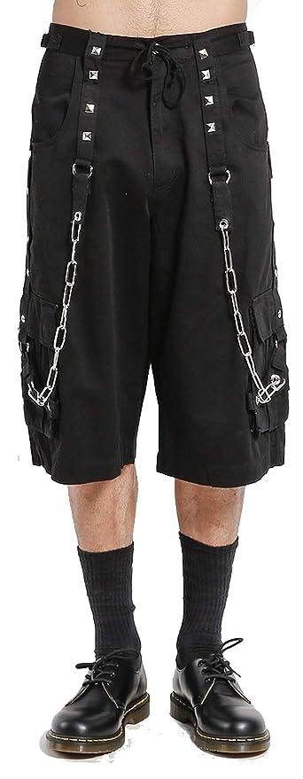 Men's Steampunk Pants & Trousers Tripp DarkStreet Short $99.99 AT vintagedancer.com