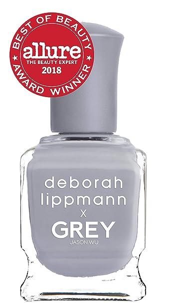 Amazon.com: Deborah Lippmann Nail Polish, Grey Day, 0.5 fl. oz.: Beauty
