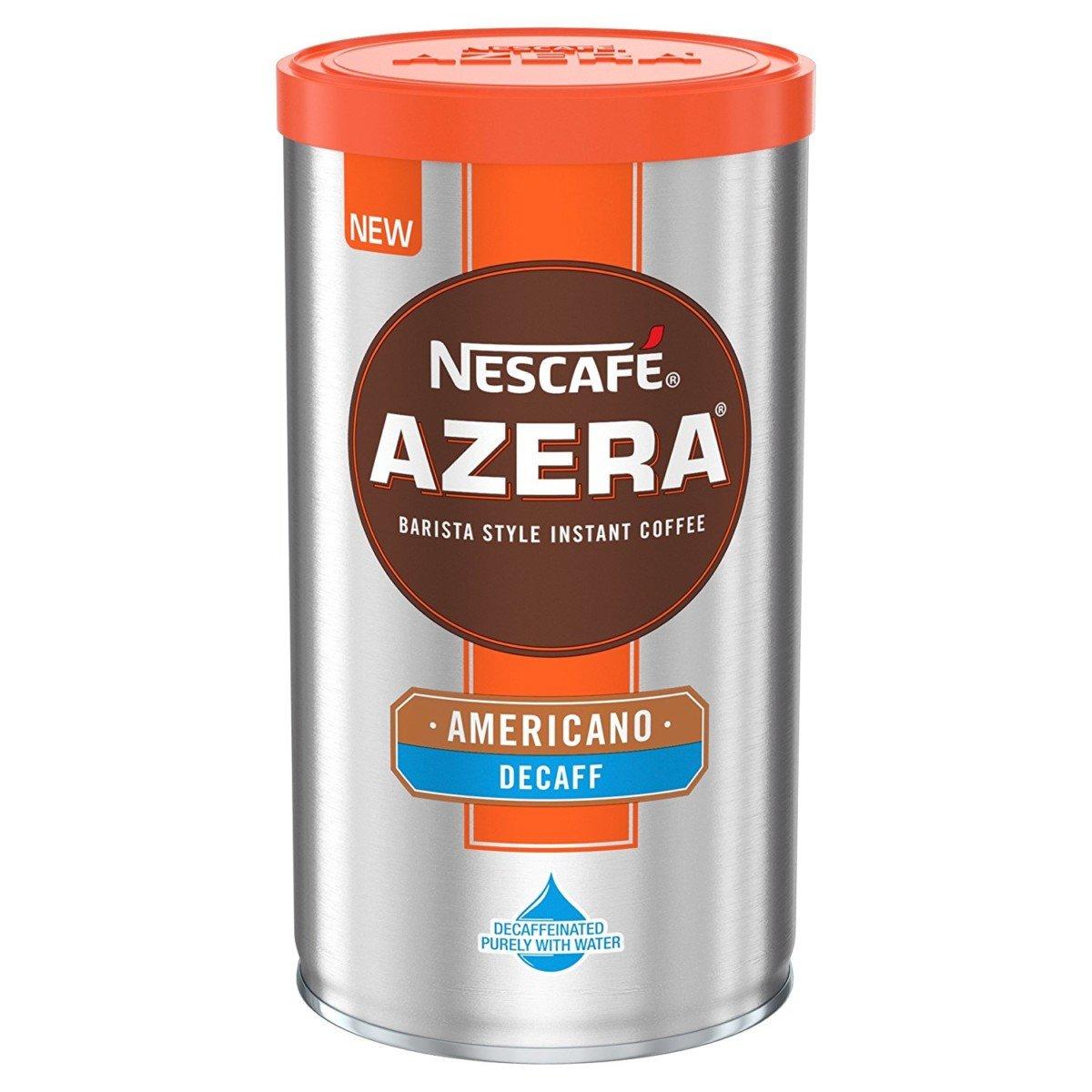 Nescafe Azera Americano Decaffeinated Decaf Instant Coffee 100g