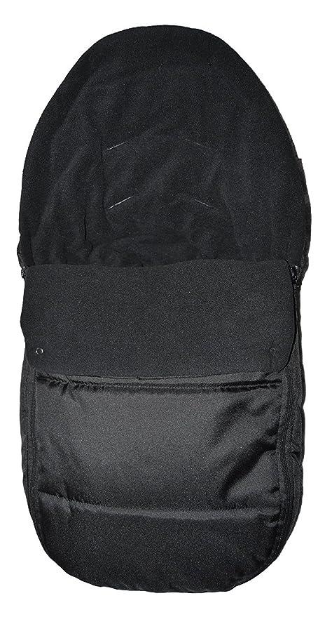 Asiento de coche para saco/Cosy Toes Compatible con ABC diseño Cobra Risus – negro