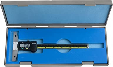 "Mitutoyo 571-211-30 SPC Digimatic Depth Gage, 0"" - 6""/0 mm - 150 mm"