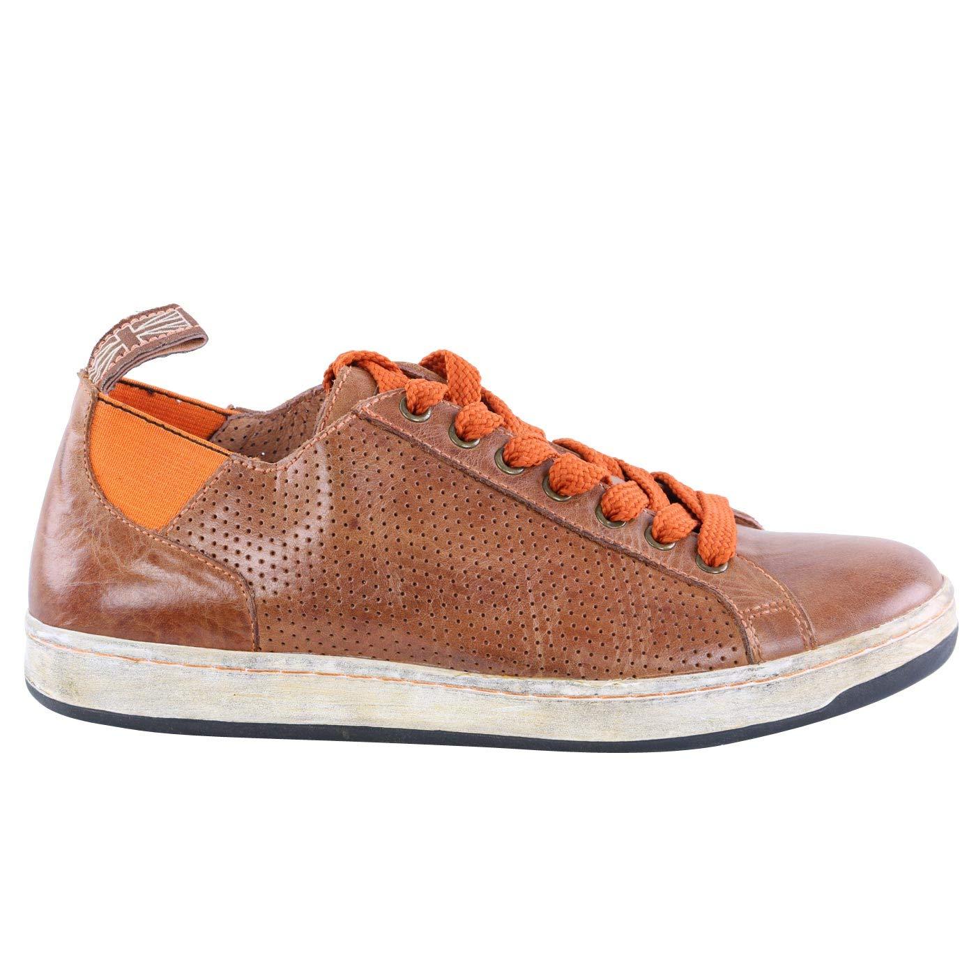 Matchless Damen Leder Turnschuhe Schuhe Brighton Vent Antique Cuero 142040 Größe 37
