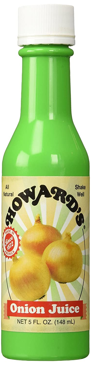 HOWARD'S ONION Seasoning Gluten free Bottled Juice 5oz