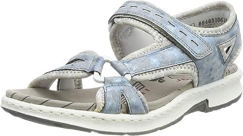Rieker Damen 67779 12 Geschlossene Sandalen: H8jgx