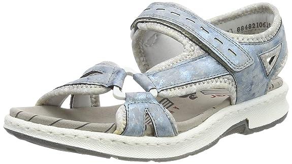 Rieker Damen 67779-12 Geschlossene Sandalen