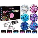 4-Pack Glitter Tulip 30522 Body Art Iridescent Body Glitter