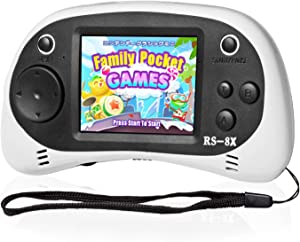 Easegmar Kids Portable Handheld Game Console