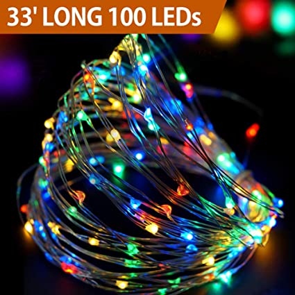 Amazon Com Bright Zeal 33 Long Led Christmas Lights Outdoor