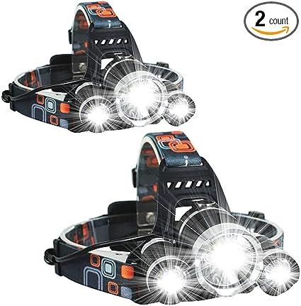 8000 LM 6T6 5x XM-L T6 LED Flashlight Torch Lamp 3 Modes Earned flashlight
